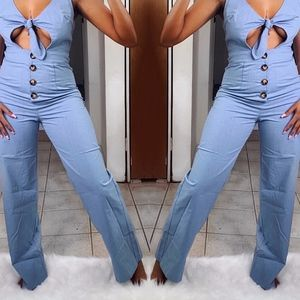 Other - Daisy Denim Jumpsuit